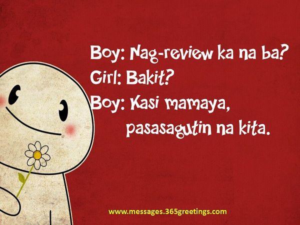 romantic pick up lines tagalog