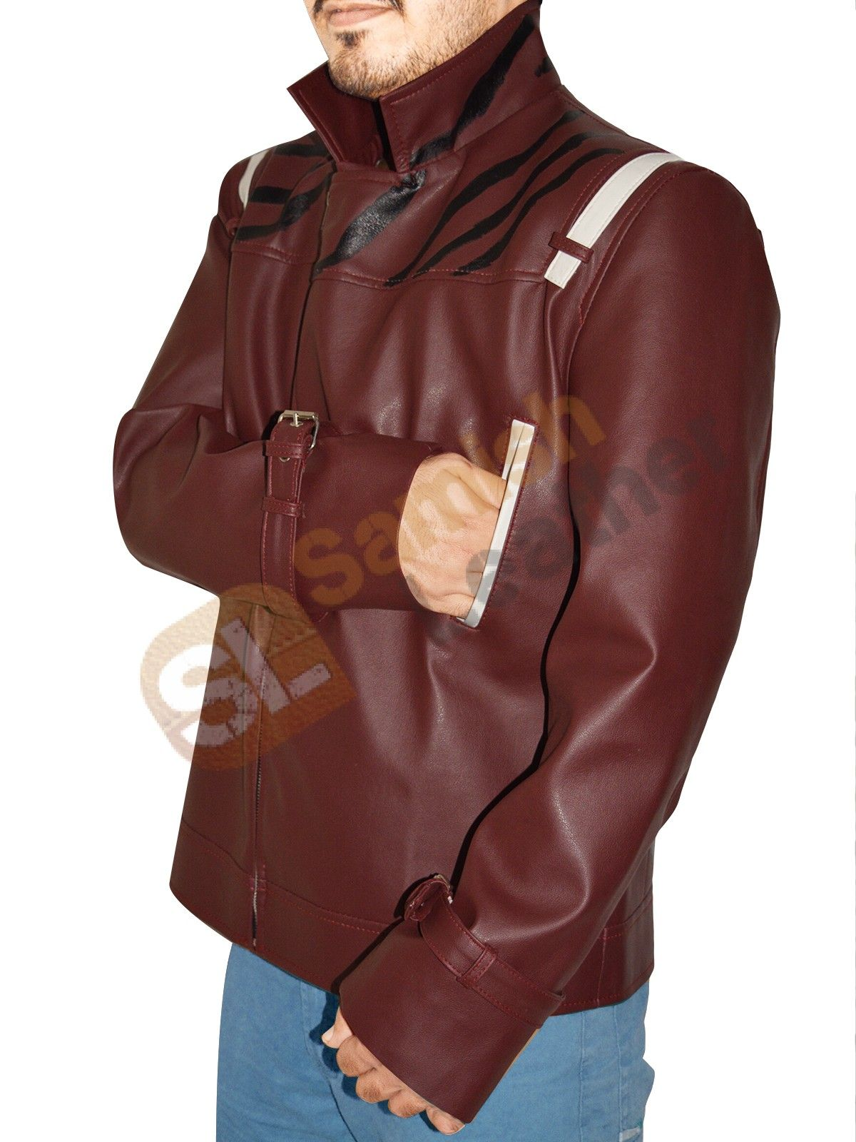 No More Heroes Leather Jacket Biker Outfits Jackets