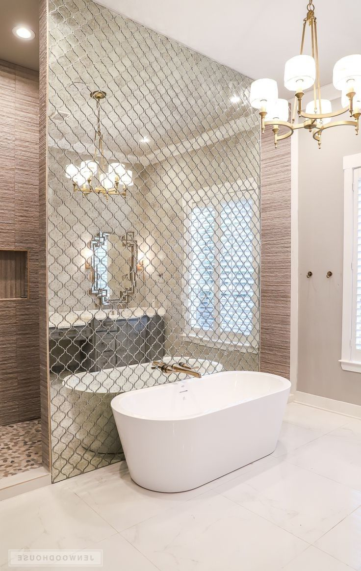 Shower Behind Wall Different Colors Though Bathroom Interior Home Interior Design House Styles