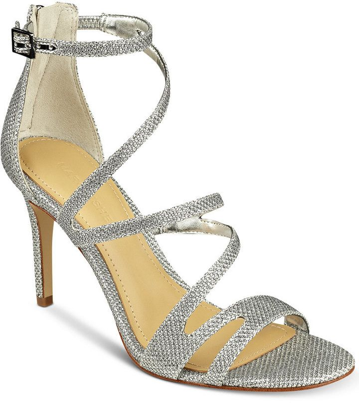 46135720f2b6 Marc Fisher Blaize Strappy Evening Sandals Women s Shoes
