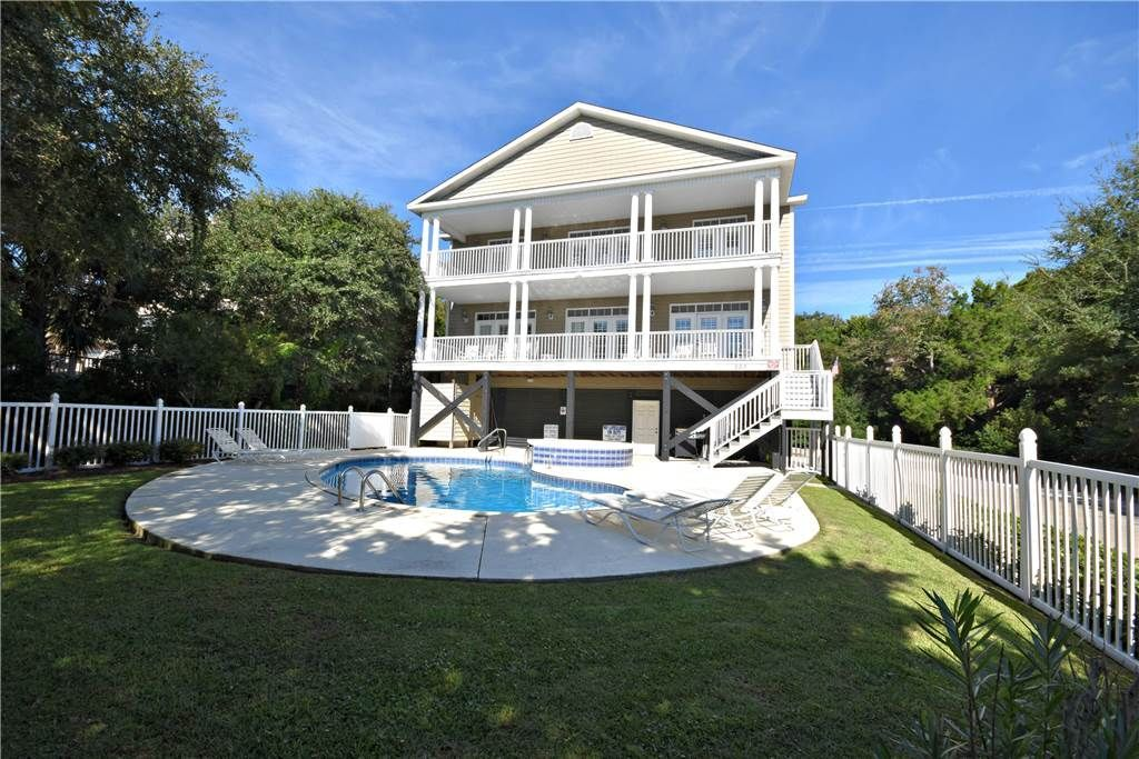 House vacation rental in north litchfield beach sc usa