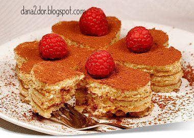 Tiramisu mini cakes