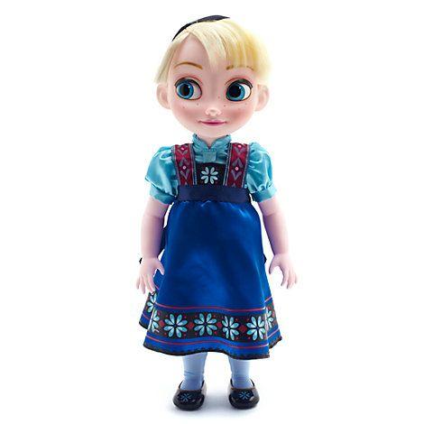 Muñeca Elsa de Frozen pequeña