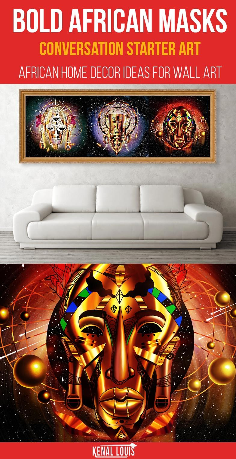 The following artworks are a collection of beautiful african wall art and african home decor ideas you will love for your home