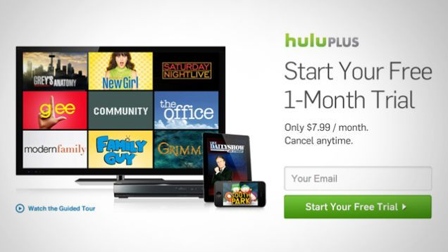 Get A One Month Free Trial For Hulu Plus This Month Free Trial Trials Months