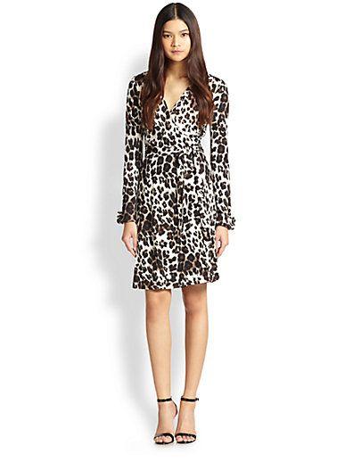 Diane von Furstenberg - New Julian Too Leopard-Print Silk Wrap Dress