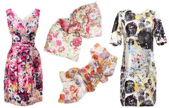 Flowerprint dresses
