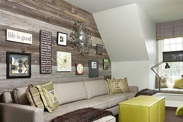 Pin By Julianna Welke Ellis On Roeser Basement Reclaimed Wood Accent Wall Wood Accent Wall Diy Wood Wall