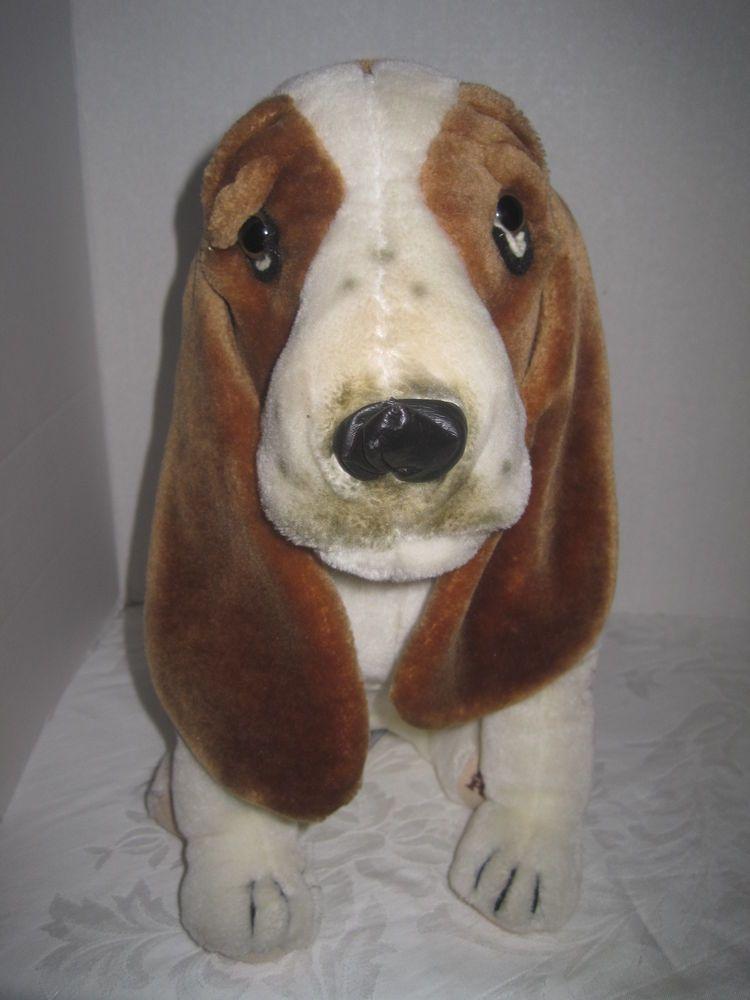 Hush Puppies Shoes Promotional Bassett Hound Plush Dog Toy