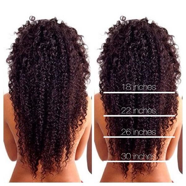 Before And After Photos Of BELLAKURLS Clip-in Curly Hair