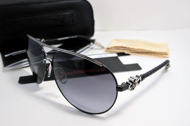 fda47a346158 2013 Chrome Hearts JISM SBK-BKL Black Frame Sunglasses Of Chrome Hearts  Factory Store Online