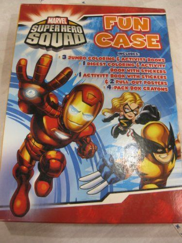 Marvel Superhero Squad Coloring and Activity Book