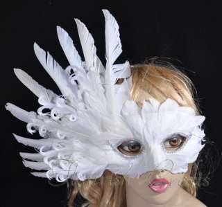 Fancy Dress Face Masks to Paint and Decorate 9 pack Flock Finish