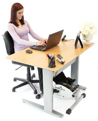 Deskcycle Pedal Exerciser Review Workout At Work Desk Workout