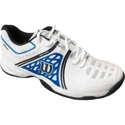Photo of Wilson Herren Tennisschuhe Sandplatz Nvison Clay Court, Größe 41 ? In White/me…