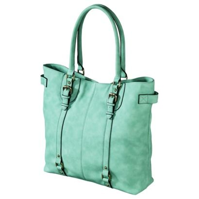 Merona Tote Handbag Mint Target Love The Color So Much Just Wish It Was A Smaller Bag