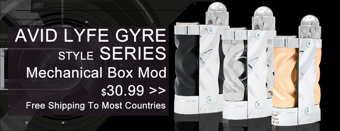 Avid Lyfe Gyre Style Series Mechanical Box Mod - 3FVape | Mechanical
