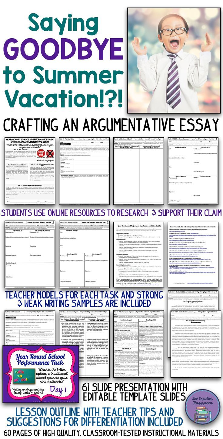 Yearround Schools Differentiated Argumentative Writing  Ela  Yearround Schools Differentiated Argumentative Writing  Ela  Nonfiction  Pinterest  School Writing And Teaching High School Personal Statement Essay Examples also Looking For Experts For Helping With My Assignments  Literature Review Company