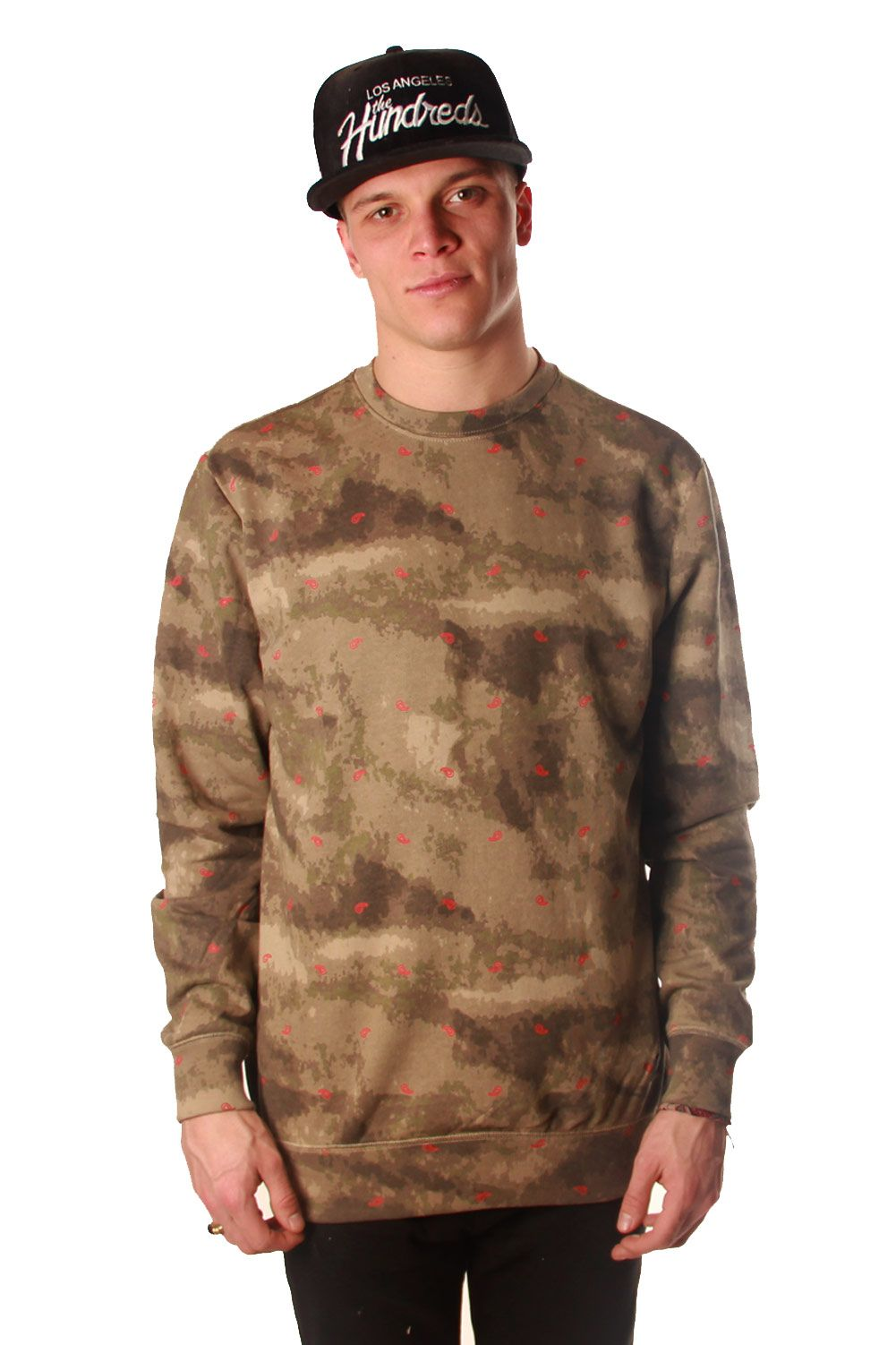 this digi camo french terry crewneck from #crooksandcastles will turn heads this spring!~ coming soon! www.freshlylanded.com