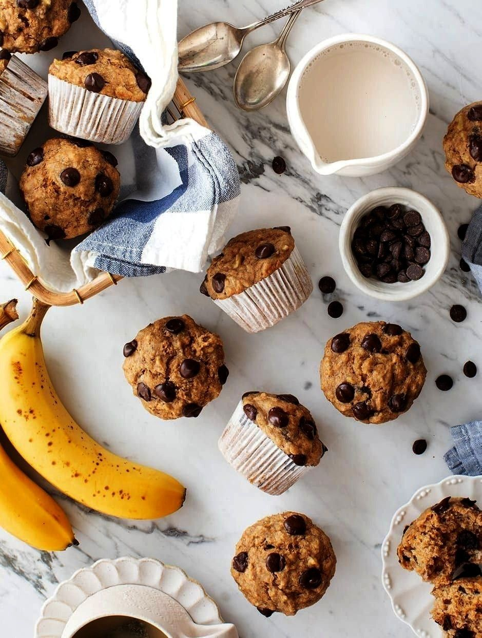 with Chocolate Chips - perfect for packing for school lunches! Moist, chocolatey, and not too sweet