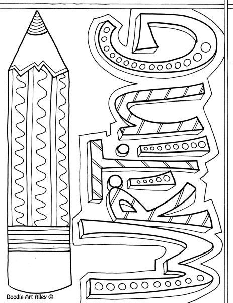 writing coloring pages | Printable for Writer's Notebook covers - as well as covers ...