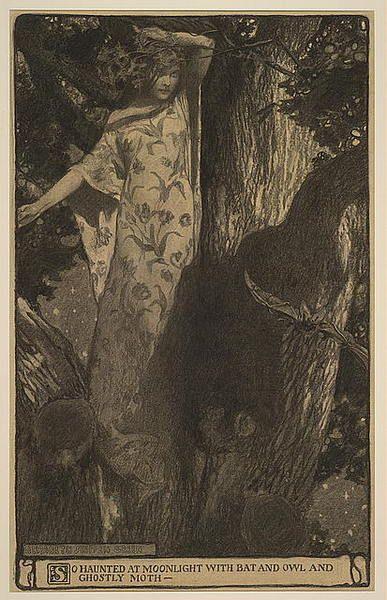 elizabeth shippen green, darkness and dawn, 1902