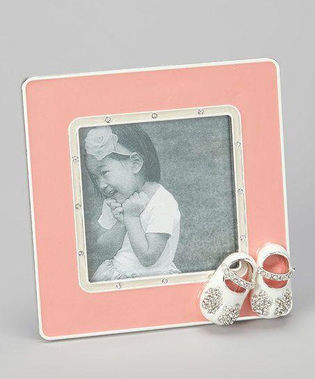 Pink Flower Shoes Frame