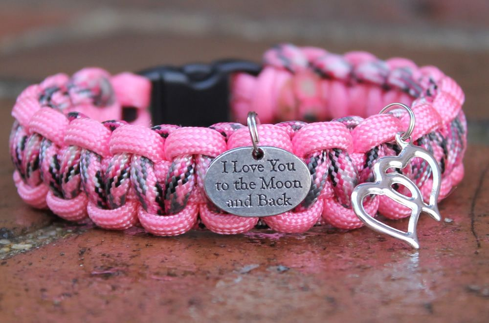 Moon and Back Bracelet Bracelets, Survival bracelet