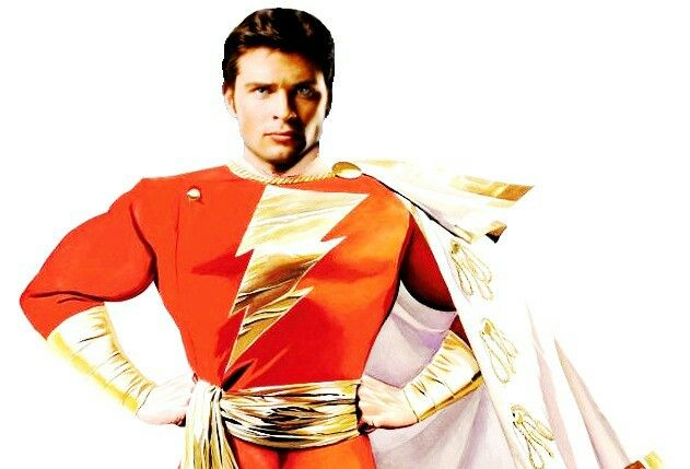 SHAZAM! Tom Welling as DC's Captain Marvel! Fan art by @Mystic_Fresh