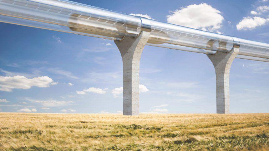 Uberschall Zug In Frankreich 400 Einwohner Dorf Soll Hyperloop