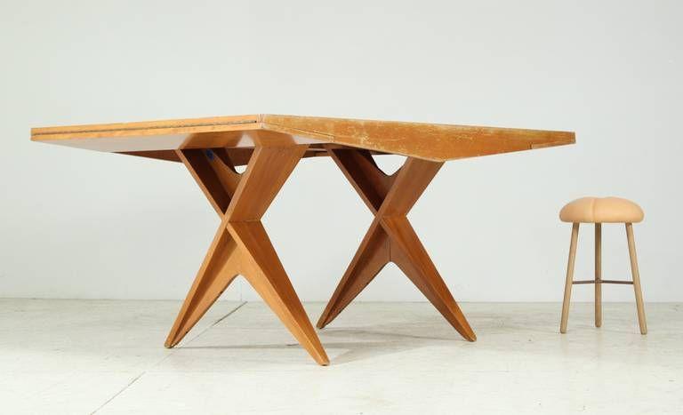 Dan Johnson Extendable Beech Dining Table Cas S - Extendable beech dining table