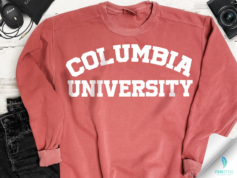 Customized School Comfort Colors Sweatshirt With Block Lettering Custom College University Comfort Colors Sweatshirt Comfort Colors University Sweatshirts [ 2250 x 3000 Pixel ]