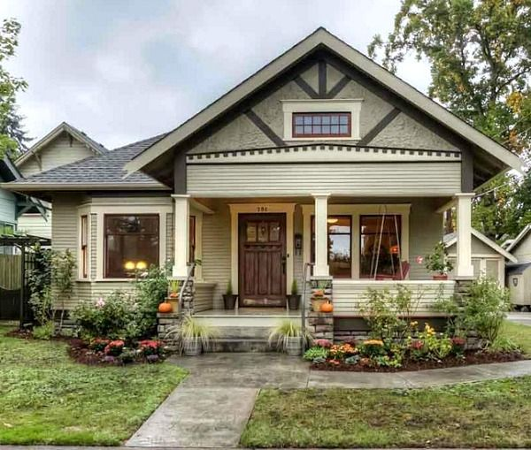 Small House Charm: A Craftsman Bungalow In Oregon (With