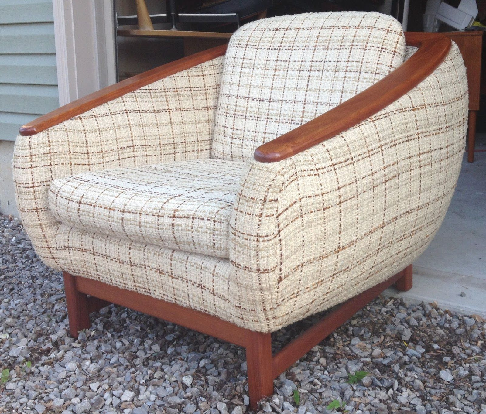 Modern Furniture Kitchener Waterloo Time Capsule Now Sold Vintage Teak Lounge Chair Danish Modern