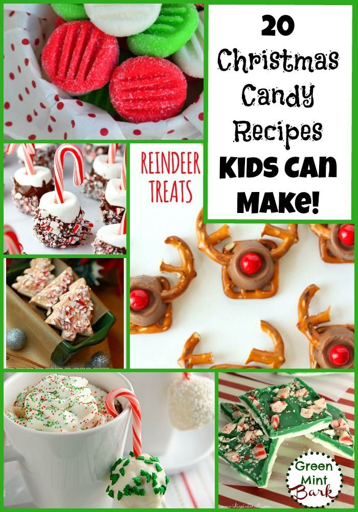 20 Christmas Candy Gifts Kids Can Make | Handmade Gift Ideas ...