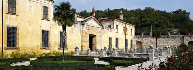 The 14th-Century Villa Della Torre offers bed and breakfast as well as tastings.