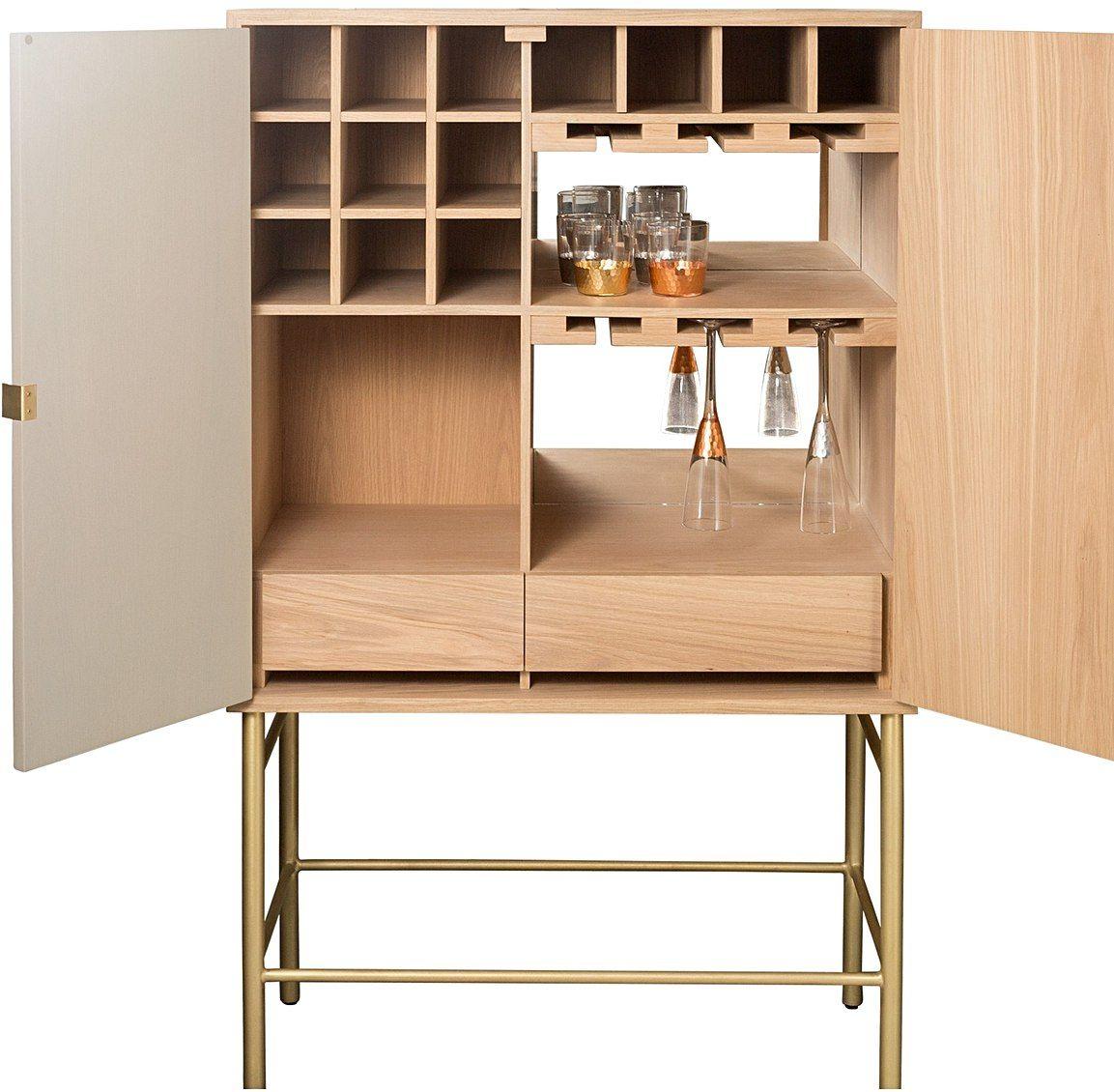 Oro Grey Drinks Cabinet   DWELL   Pinterest