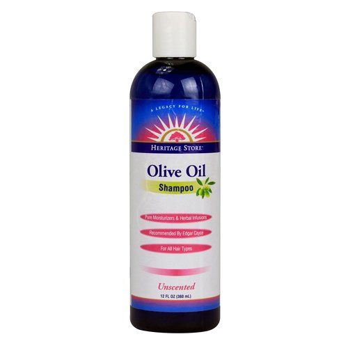 Heritage Store Hair Shampoo Unscented Olive Oil 12 Ounce See This Great Product Note It Is Affiliate Olive Oil Shampoo Fragrance Free Products Hair Shampoo