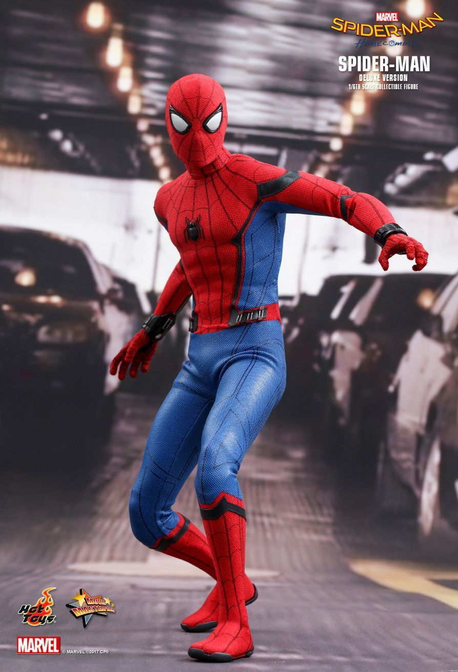 Hot Toys Spider Man Homecoming Spider Man Deluxe Version 1