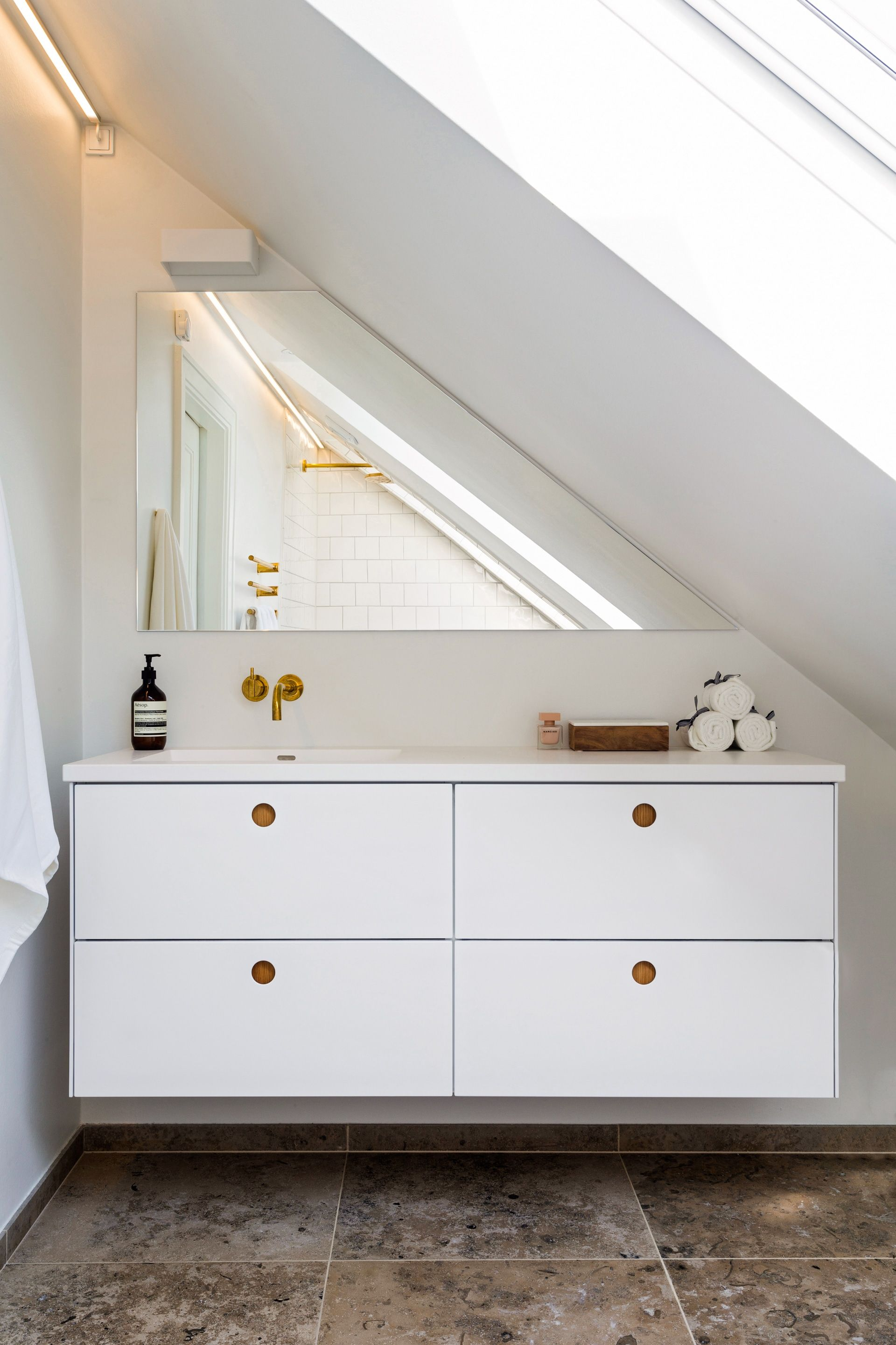Ikea Badezimmer Godmorgon Bathroom In Hellerup Denmark Reform Bathroom In