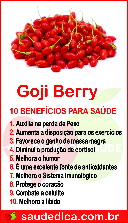 Os 17 Benefícios do Goji Berry Para Saúde! #gojiberry #gojiberrybeneficio  #beneficiodogojiberry #gojiberryparasaude #gojib… | Diet and nutrition,  Health, Herbalism