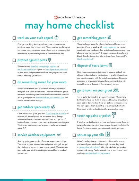 Photo of Laden Sie jetzt Ihre Mai-Checkliste herunter! Einfache Aufgaben, um Ihr Zuhause in diesem Monat auf dem Laufenden zu halten