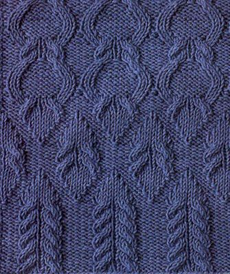 Different Cable Knitting Stitches : Different beatiful stitches with charts.Knitting Stitch Patterns Rahymah Ha...