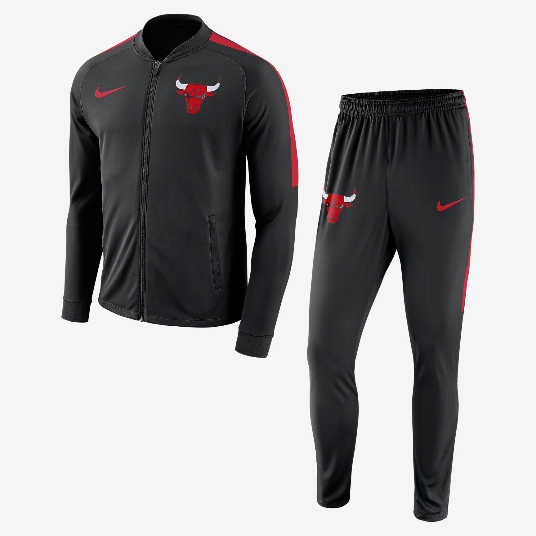 Chicago Bulls Nike Dry NBA trainingspak voor heren