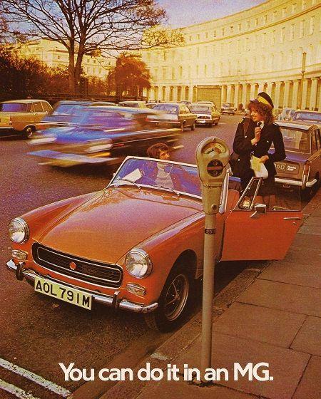 MG Midget Car Print 1974, Advertising Wall Art | Cars | Pinterest ...