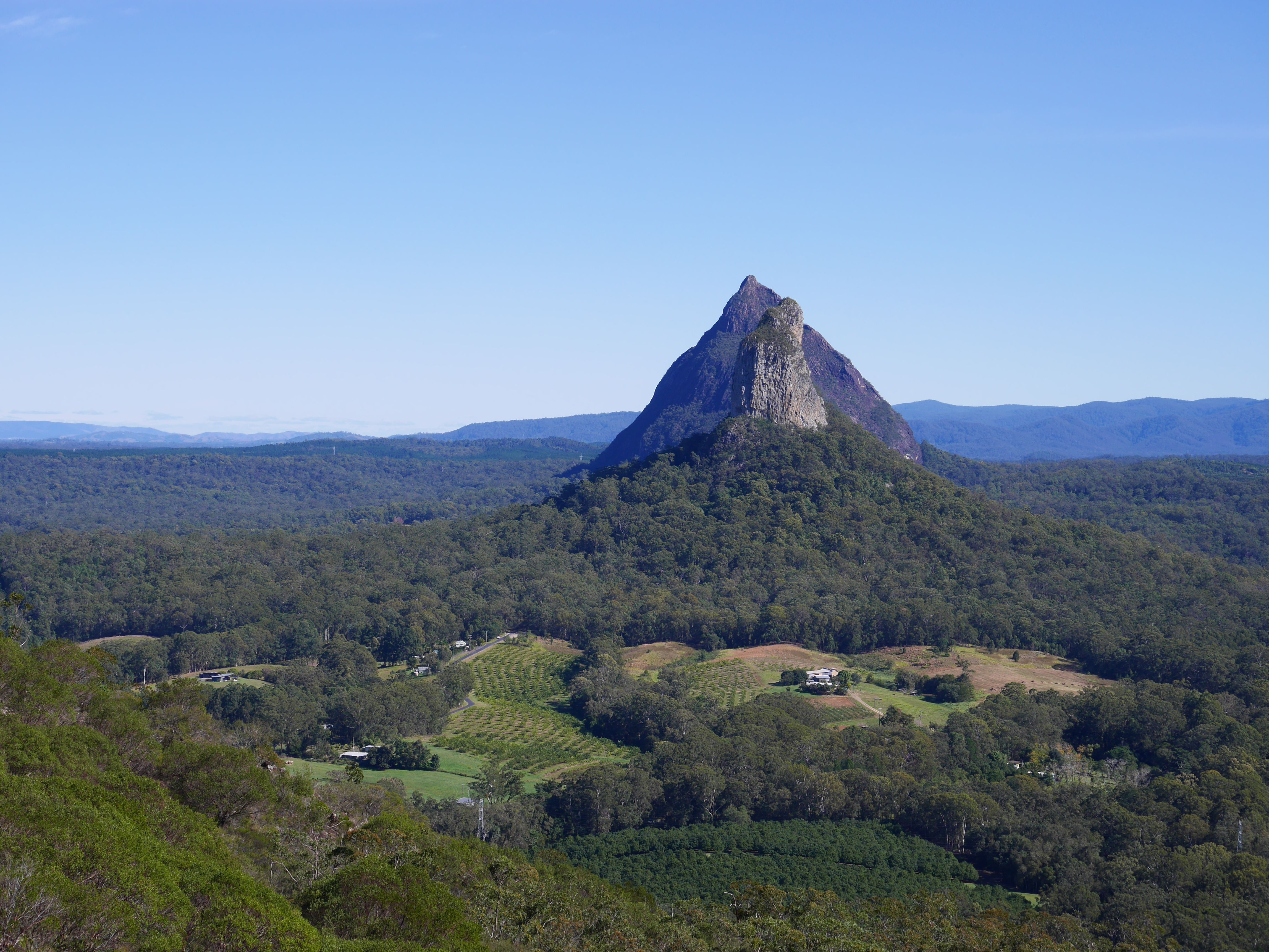 Love walking in the Glass House Mountains Spectacular