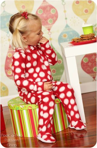71ef932f4 Classic footed pajamas pattern tutorial