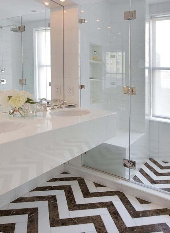 dramatic bathrooom floors   Bathroom Design IAccent on Design I ...