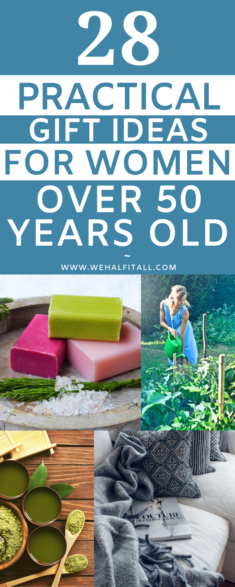 28 Practical Gift Ideas For Women Over 50 Years Old 50th