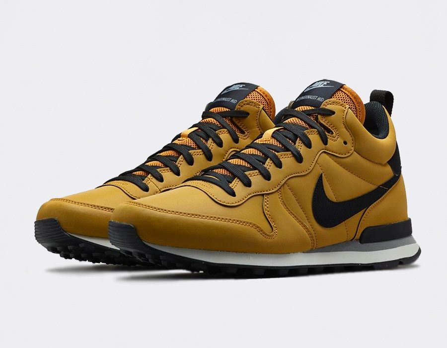 #Nike Internationalist Mid QS Bronze #sneakers